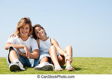 Loving children