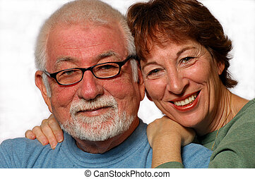 Loving Couple - Man and woman in loving relationship