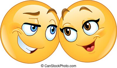 loving emoticons - Loving emoticons couple