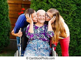 Loving Grandchildren