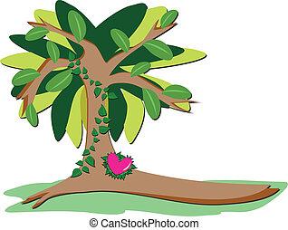 Loving Heart Tree