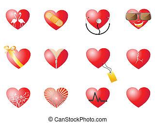 loving hearts set
