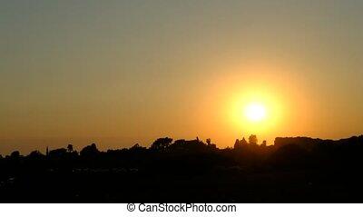 Low angle shot man cycling sunset videos