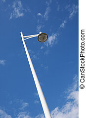 Low-angle view of a lamp post