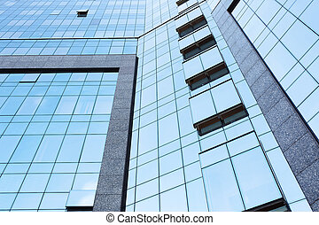 Low Angle View Of Tall Office Buildings
