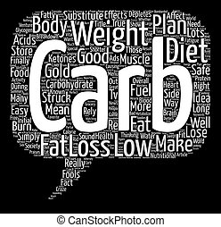 Low Carb Diets Just How Safe Are They Word Cloud Concept Text Background