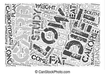 Low Carb Fad Diets Revealed Word Cloud Concept Text Background