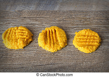 Low Carb Keto Pumpkin Butter Cookies - ketogenic atkins...