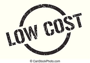 low cost stamp - low cost black round stamp