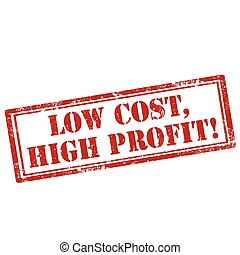 Low Cost,High Profit-stamp