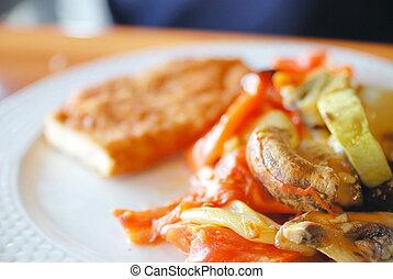 low-fat and healthy meal - low fat and healthy meal