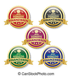 Low Financing 5 Golden Buttons