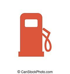 Low fuel level icon