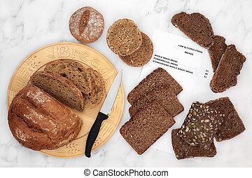 Low GI Bread Selection for Diabetics