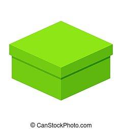 low green gift box