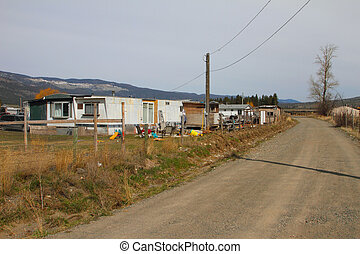 Low income housing in rural British Columbia