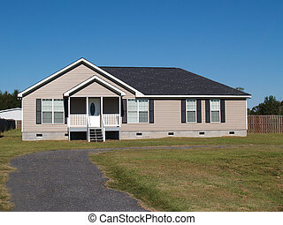 Low Income Manufactured Home - Small low income manufactured...