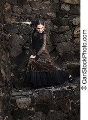 low-key, flamenco