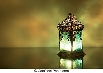 Lanterns is a public tradition in Ramadan month