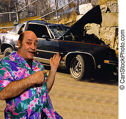 , A humorous take on the car salesman
