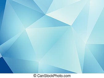 low poly abstract 2804 - Abstract background with a low poly...