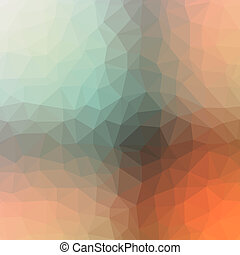 Low poly abstract background