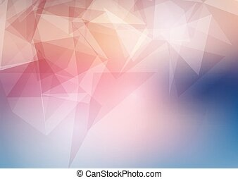 low poly background 0804 - Abstract background with a low...