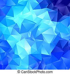 low poly blue abstract background 2807