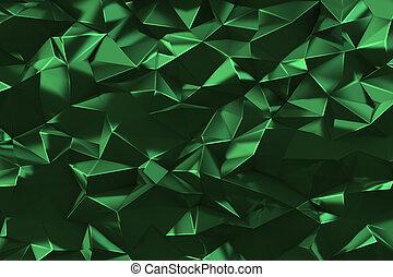 Low poly digital geometric background