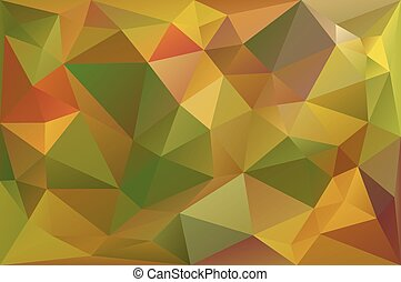 Low Poly Fall Background
