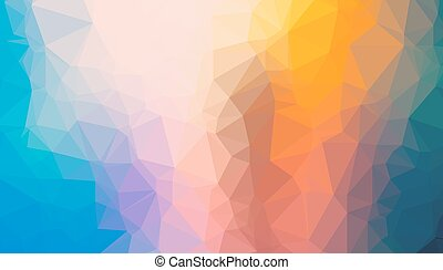 Low Poly geometric abstract backgroud for brochure layout,...