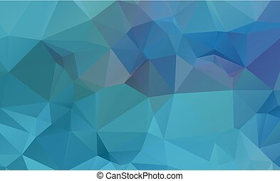 low poly geometric background consisting of triangles of...