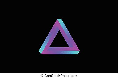 Impossible triangle optical illusion blueprint eps vector search low poly impossible triangle malvernweather Gallery