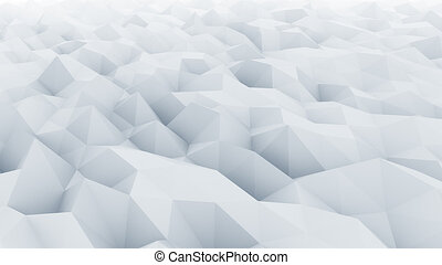 Low poly light blue abstract polygonal modern background for...
