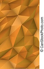 Low Poly Modern Display Triangle Abstract Background