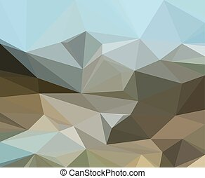 Low Poly Pattern. Vector