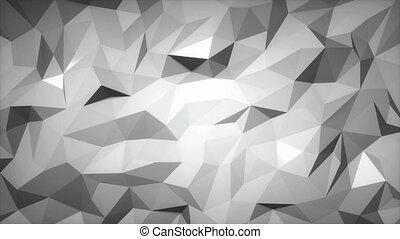 Low poly slowly changing background. Loop able 3d animation.