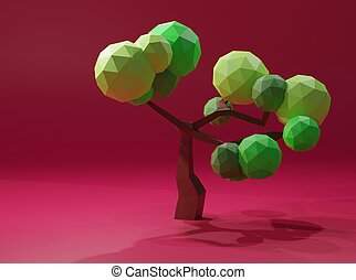 Low Poly Tree - Low Poly tree
