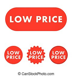 Low price button