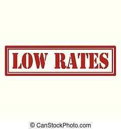Low Rates-stamp