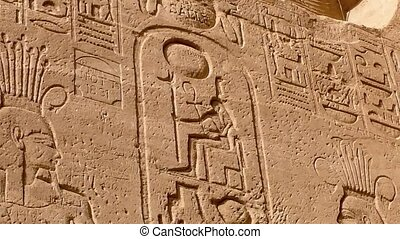 Low-relief, Abu-Simbel - Scenes from the life of Ramses II...