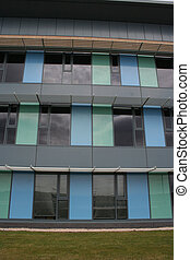 Low rise office building detail