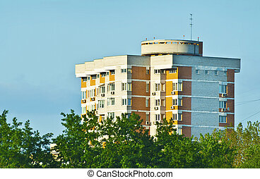 low-rise  - ecological block of flats