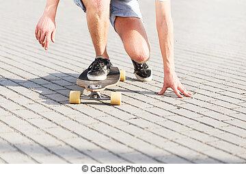 Low Set by Skateboarder