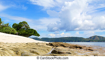 Low Tide at Dimakya Philippines