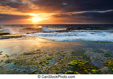 Low tide at Narrabeen
