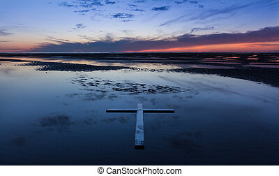 Low Tide Cross