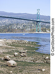 Low Tide In Vancouver