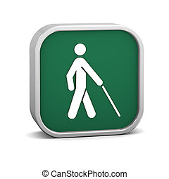 Low Vision Access Sign