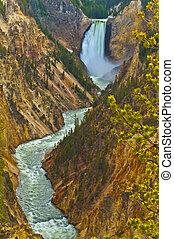 Lowe Yellowstone Falls